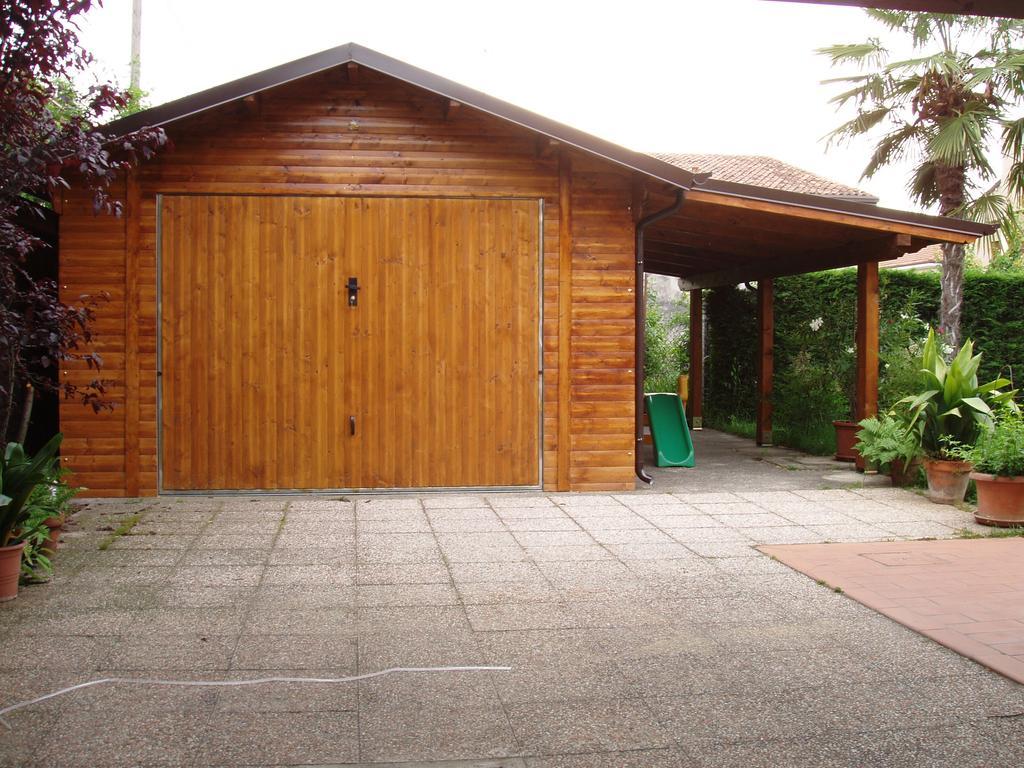 Garage in legno box auto in legno a rovigo verona - Garage in legno ...