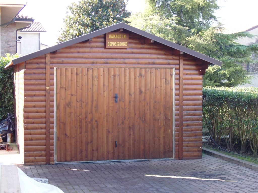 Garage in legno, box auto in legno a Rovigo, Verona, Mantova, Ferrara