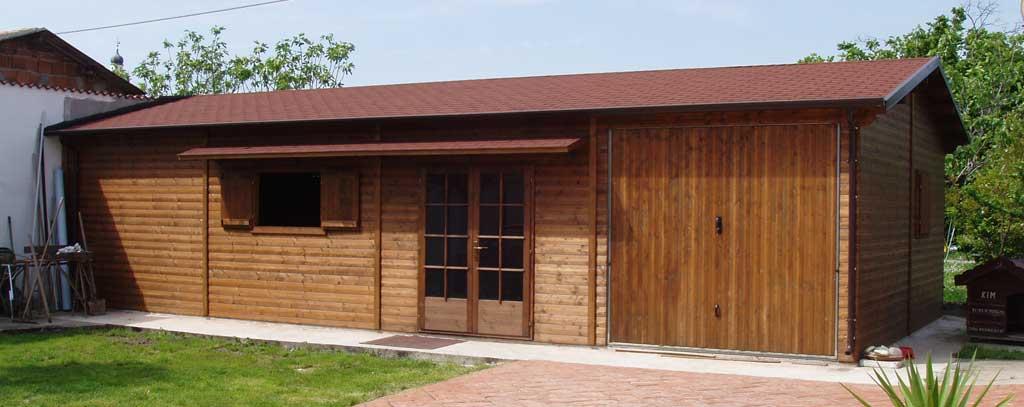 Garage di legno tutte le immagini per la progettazione - Garage in legno ...