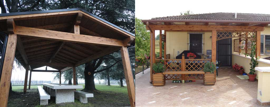 Great strutture in legnogazebo in legno with strutture in legno per esterni - Mobili per esterni in legno ...